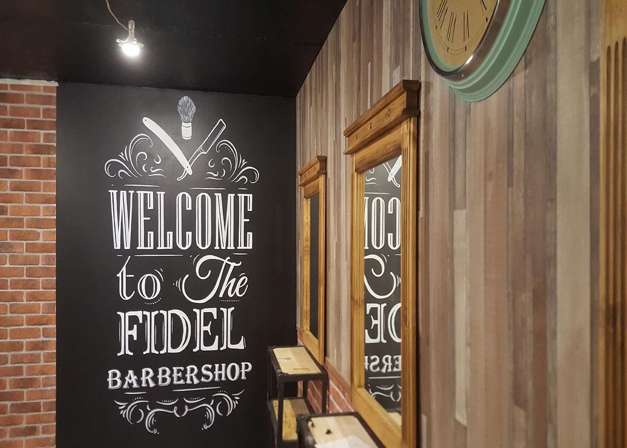 Candy bar для открытия барбер шоп